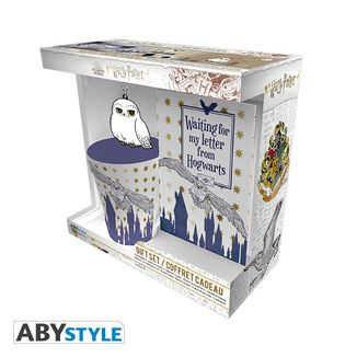 Gift Pack Mug + Keyring + Notebook Hedwig Harry Potter