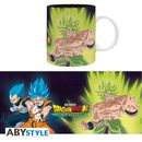 Taza Broly & Goku & Vegeta Dragon Ball Broly