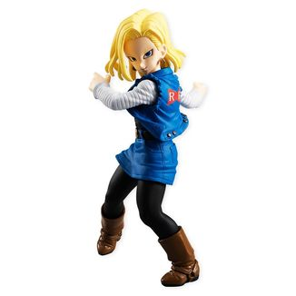Figure Dragon Ball Z - Android 18 - Styling