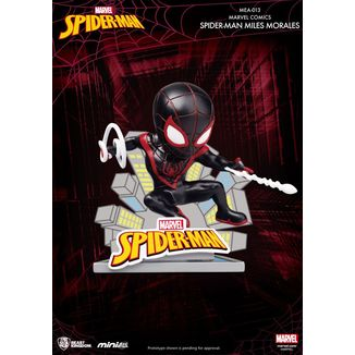 Spider Man Miles Morales Figure Marvel Comics Mini Egg Attack