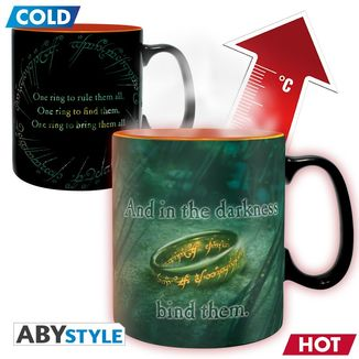 Sauron Lord of the Rings mug heat change