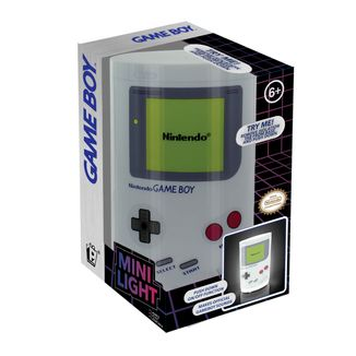Lámpara Mini Game Boy con sonido