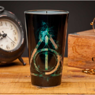Crystal Glass Deathly Hallows Harry Potter
