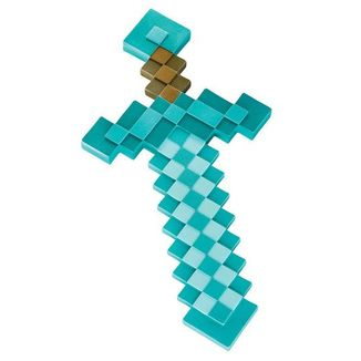Diamond Sword Replica Minecraft