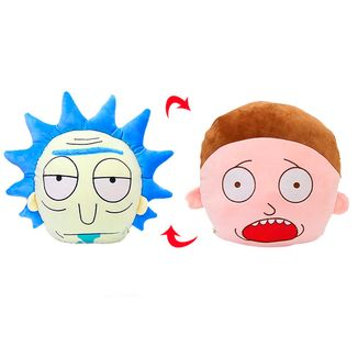 Reversible Cushion Rick and Morty