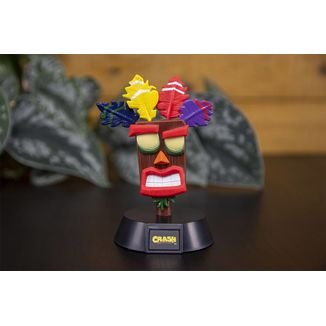 Lámpara 3D Aku Aku Crash Bandicoot