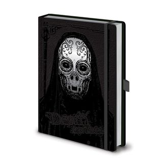 Libreta Premium Death Eater A5 Harry Potter
