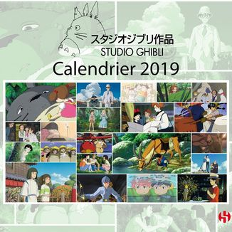 Studio Ghibli Calendar 2019 *French Version*