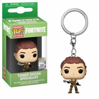 Tower Recon Specialist Key Chain  Fortnite POP!