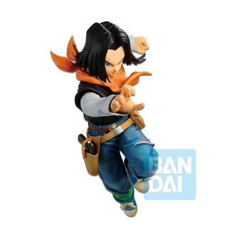 Figura Androide 17 The Android Battle Dragon Ball FighterZ