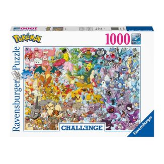 Pokémon Challenge Group Puzzle 1000 Pieces