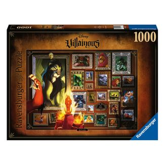 Puzzle 1000 Piezas Scar El Rey Leon Disney Villainous