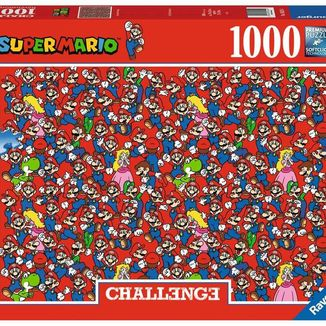Super Mario Bros Challenge Puzzle 1000 Pieces