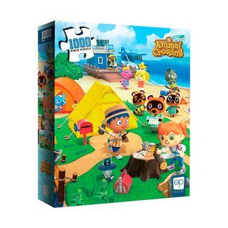 Puzzle Animal Crossing New Horizons Welcome 1000 Piezas