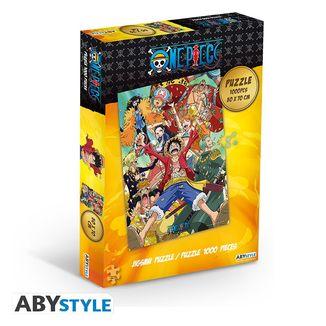 Puzzle Tripulacion One Piece 1000 Piezas