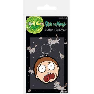 Llavero Rick y Morty - Morty Aterrado