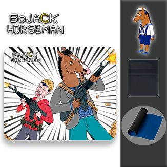 Mouse Pad Bojack Horseman - Guns