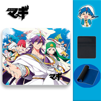 Mouse Pad Magi The Labyrinth of Magic - Sinbad Team