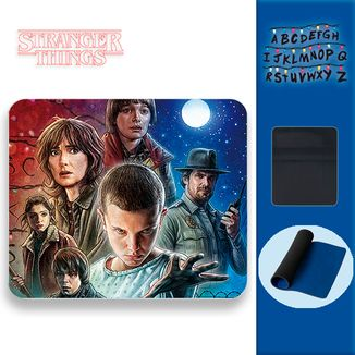 Mouse Pad Stranger Things - Poster