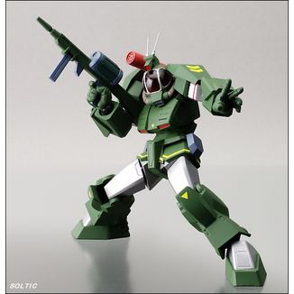 "Revoltech 015 Soltic H8 ""Roundfacer""- Fang of the Sun Dougram -"