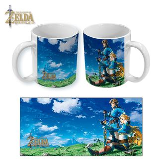 Taza The Legend of Zelda Breath of the Wild Anniversary