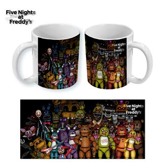 Taza Five Nights at Freddy's #01