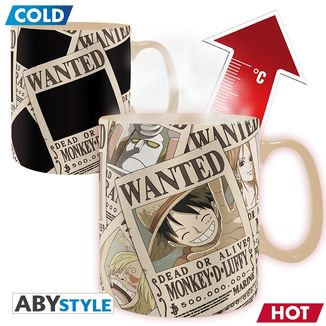 Taza Térmica One Piece Wanted