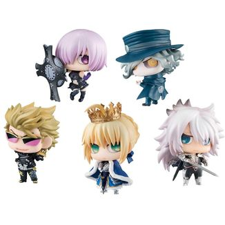 Figure Set Chimimega no. 1 Petit Chara Pretty Soldier Fate Grand Order