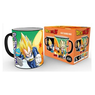 Saiyans Heat Change Mug Dragon Ball Z
