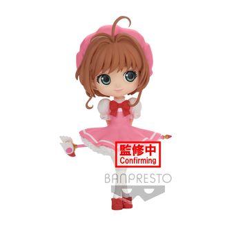 Figura Sakura Kinomoto Card Captor Sakura Clow Card Version A Q Posket