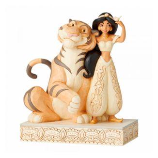 Figura Jasmine y Rajah Aladdin Jim Shore Disney Traditions
