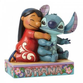 Figura Lilo y Stitch Ohana Significa Familia Disney Showcase Collection