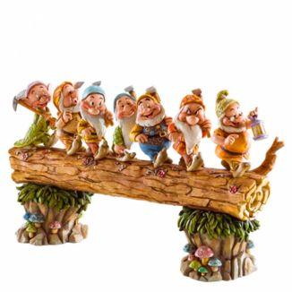 Figura Los 7 Enanitos Blancanieves Jim Shore Disney Traditions