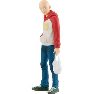 Saitama Oppai Hoodie Ver. Figure One Punch Man Pop Up Parade