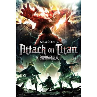 Poster Attack on Titan Season 2 Key Art