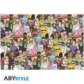 Poster Rick y Morty  91,5 x 61 cm