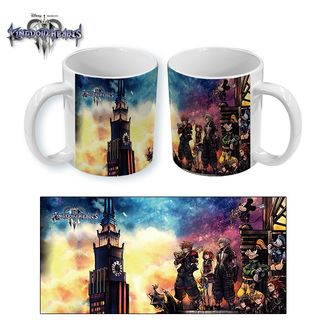Taza Kingdom Hearts 3 Cover