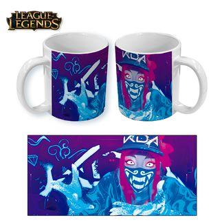 League of Legends Mug KDA Akali Face