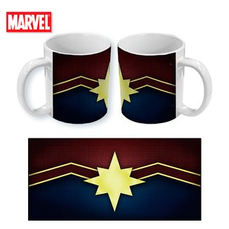 Taza Marvel Comics Captain Marvel