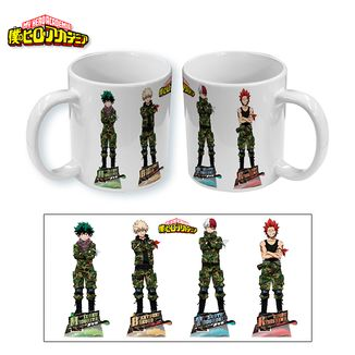 Taza My Hero Academia Military Boys