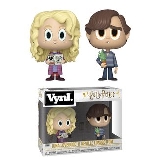 Figuras Luna Lovegood y Neville Longbottom Set Vynl Harry Potter