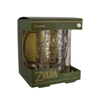 Zelda Shield Crystal Jug - The Legend of Zelda