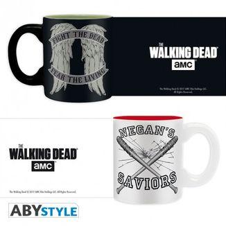 Set mini mugs The Walking Dead Daryl VS Negan