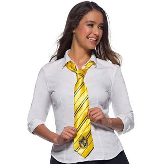 Corbata Hufflepuff Harry Potter Replica Oficial