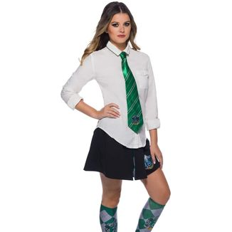 Corbata Slytherin Harry Potter Replica Oficial