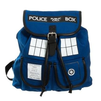 TARDIS Doctor Who backpack