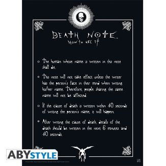 Poster Death Note Rules