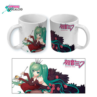 Mug Vocaloid Hatsune Miku Rose