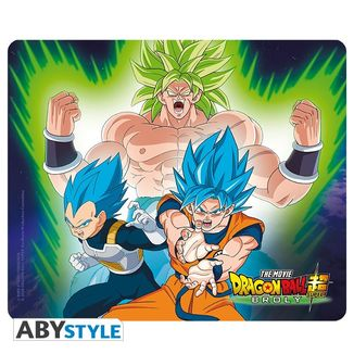 Alfombrilla Ratón Broly VS Goku & Vegeta Dragon Ball