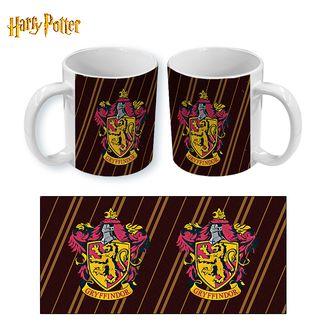 Mug Harry Potter Gryffindor Stripes
